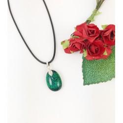 "The ""Deep Green"" pendant"