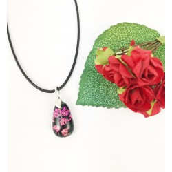 """The """"Pretty in pink"""" pendant"""